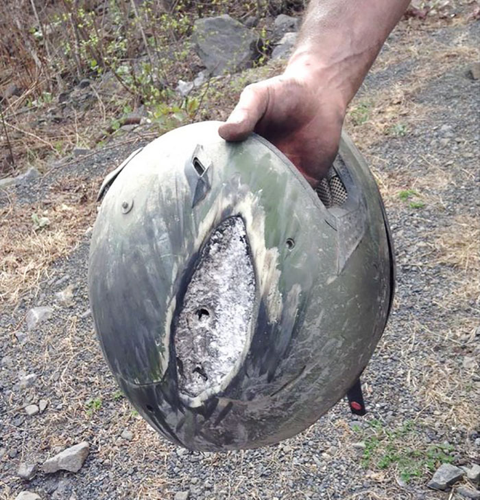 15 Reasons Why Wearing A Helmet Is Always A Good Idea - Helmets Saved Lives