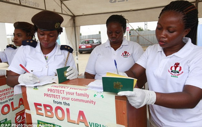 ebola return back to nigeria