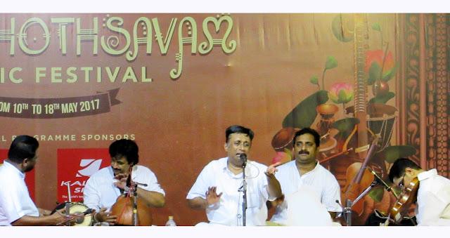 Music Concert by Sangeetha Kalanidhi Sanjay Subrahmaniam at Vasantholsavam