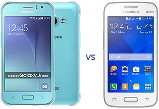Samsung Galaxy J1 Ace vs Galaxy V Plus