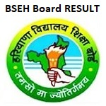 BSEH Haryana 10th, 12th Board Result 2019