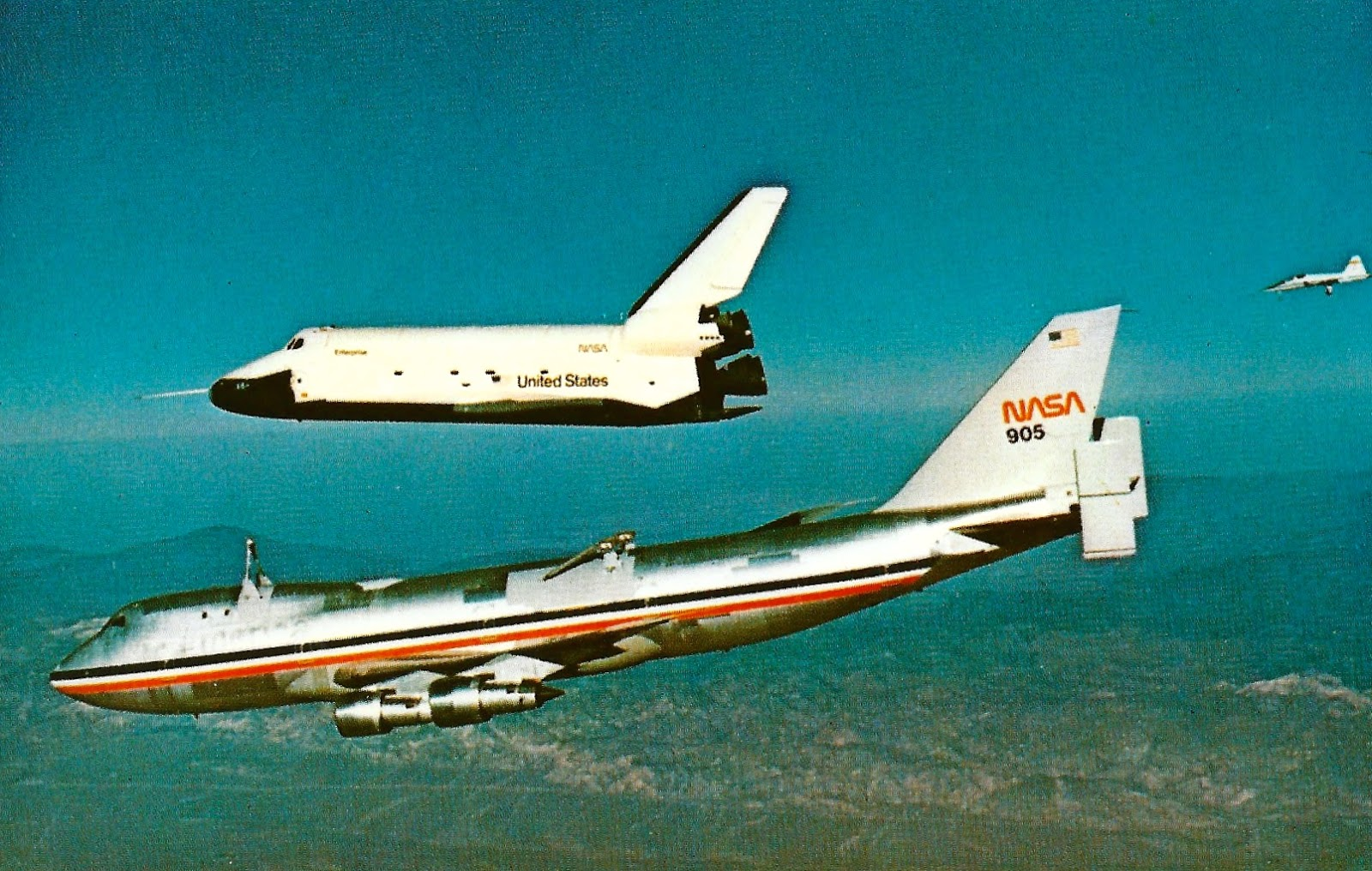 My Favorite Postcards: Space Shuttle Enterprise and the ...