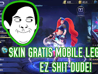 Giveaway Skin Epic Mobile Legend