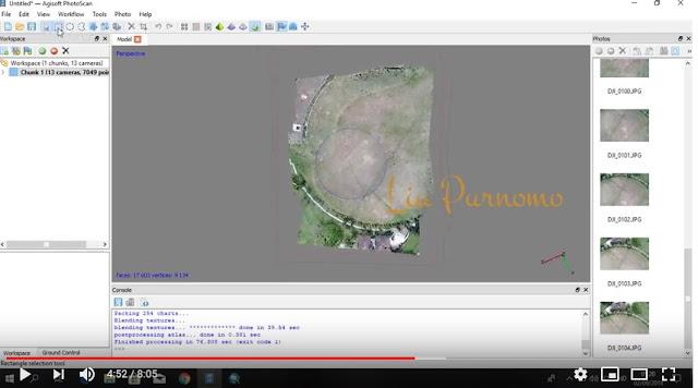 Mengelola Data Drone Di Agisoft [Tutorial]