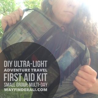 lightweight travel first aid kit