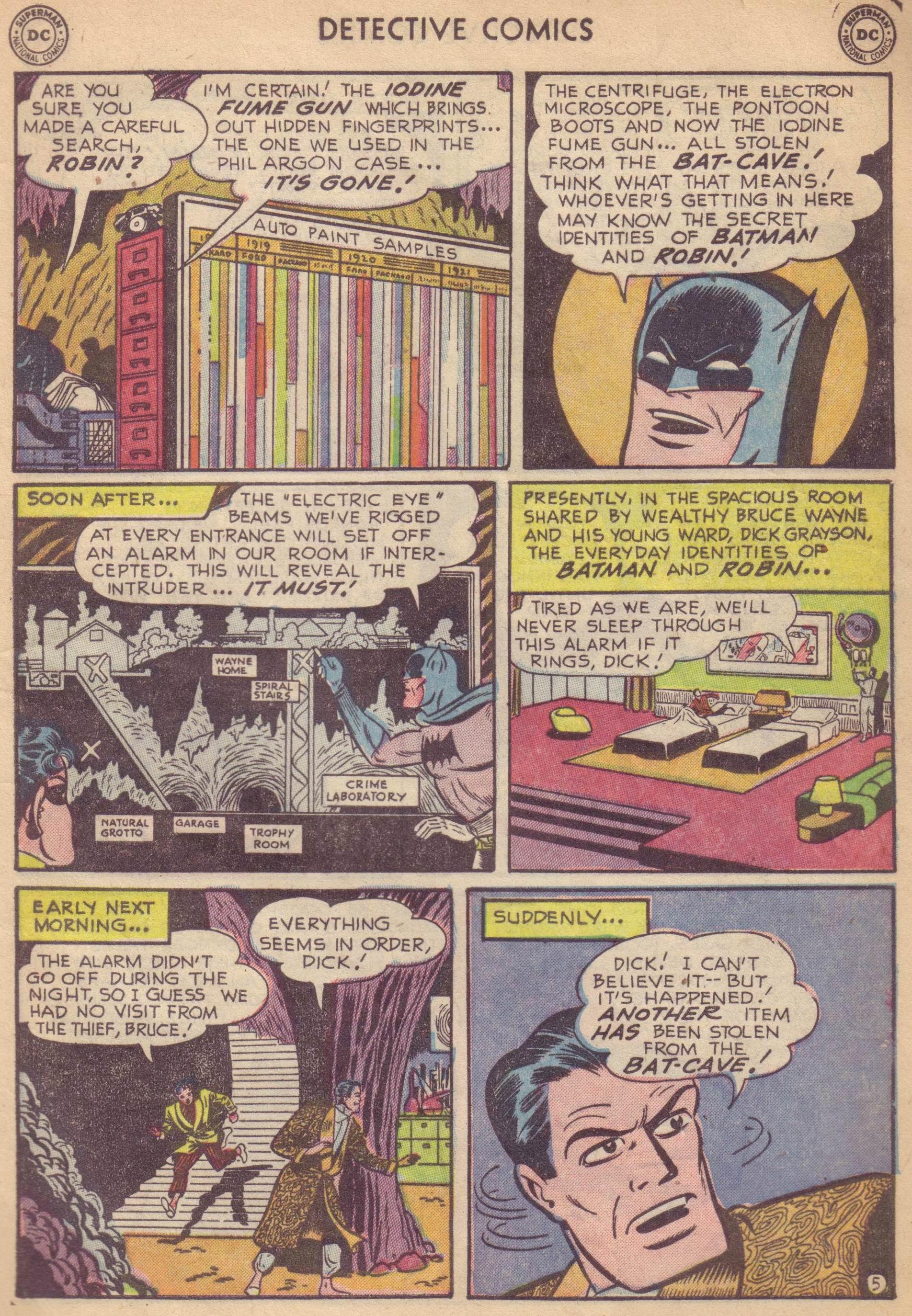 Read online Detective Comics (1937) comic -  Issue #177 - 7
