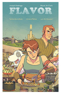 Review of Flavor by Joseph Keatinge / Wook Jin Clark