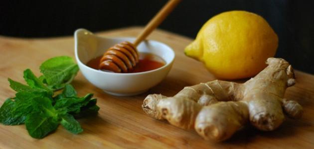 فوائد الزنجبيل والعسل