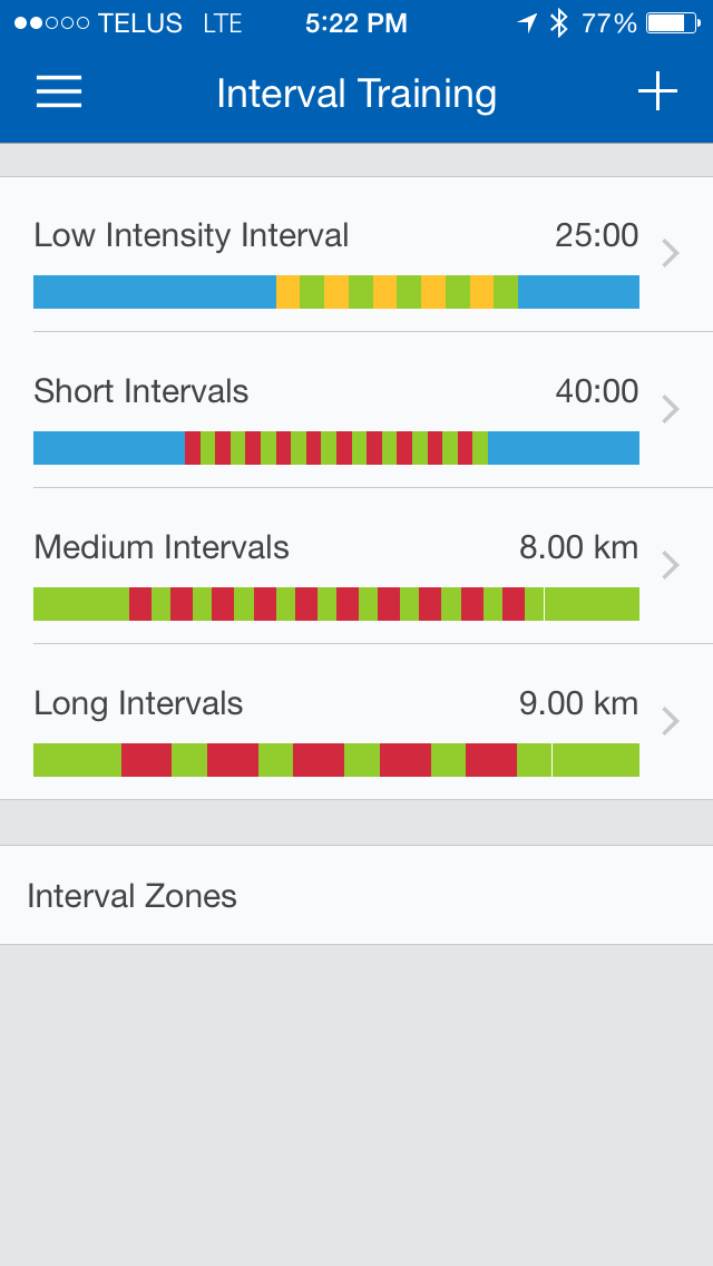 Image for Runtastic Interval Training
