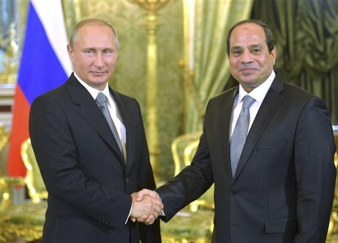 الرئيس السيسي يقدم العزاء للرئيس بوتين, والرئيس الروسي يعلن إقتراب عودة الرحلات الجوية بين موسكو ومصر