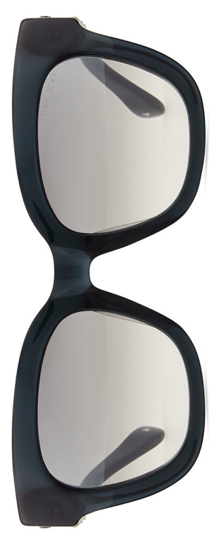 Jimmy Choo  Maggie Jewel-Temple Sunglasses Dark Gray