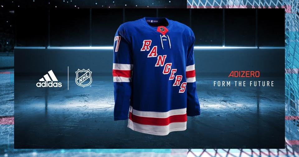 8fa463b85b2 REAL New York Rangers Fans: NHL, adidas Unveil New Uniforms for 2017-18  Season
