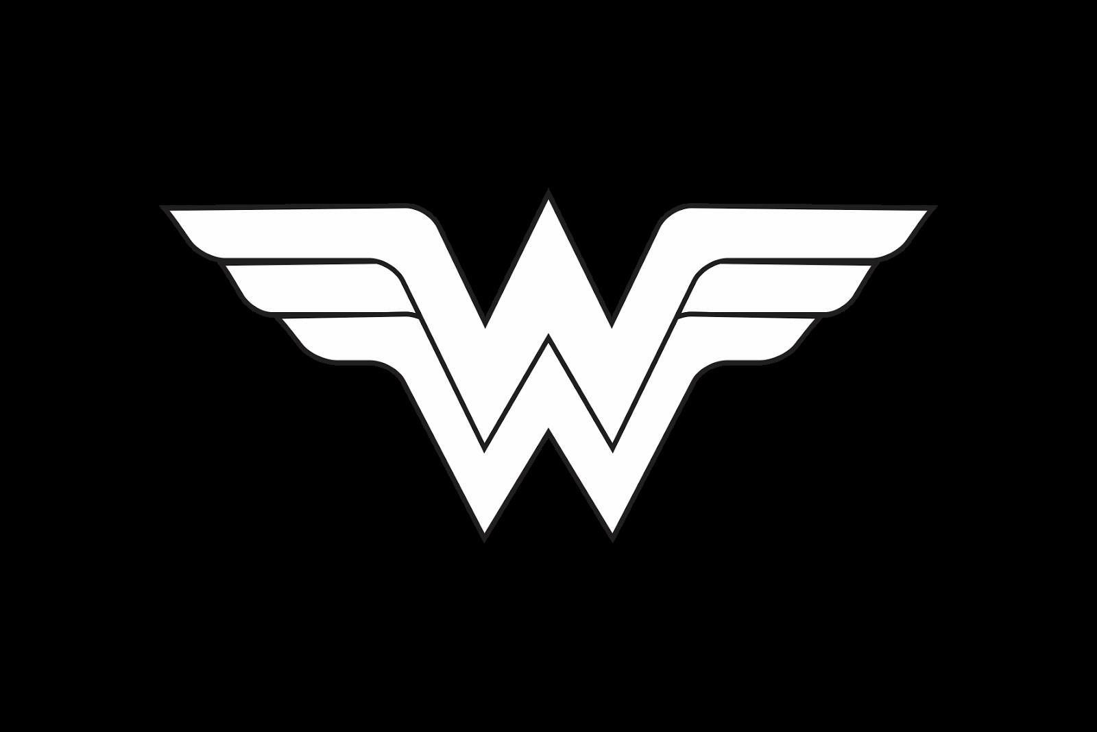Logo Woman Wonder Vector