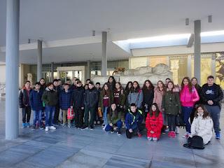 Επίσκεψη της Α΄τάξης του Γυμνασίου Κορινού στο Αρχαιολογικό Μουσείο Θεσσαλονίκης