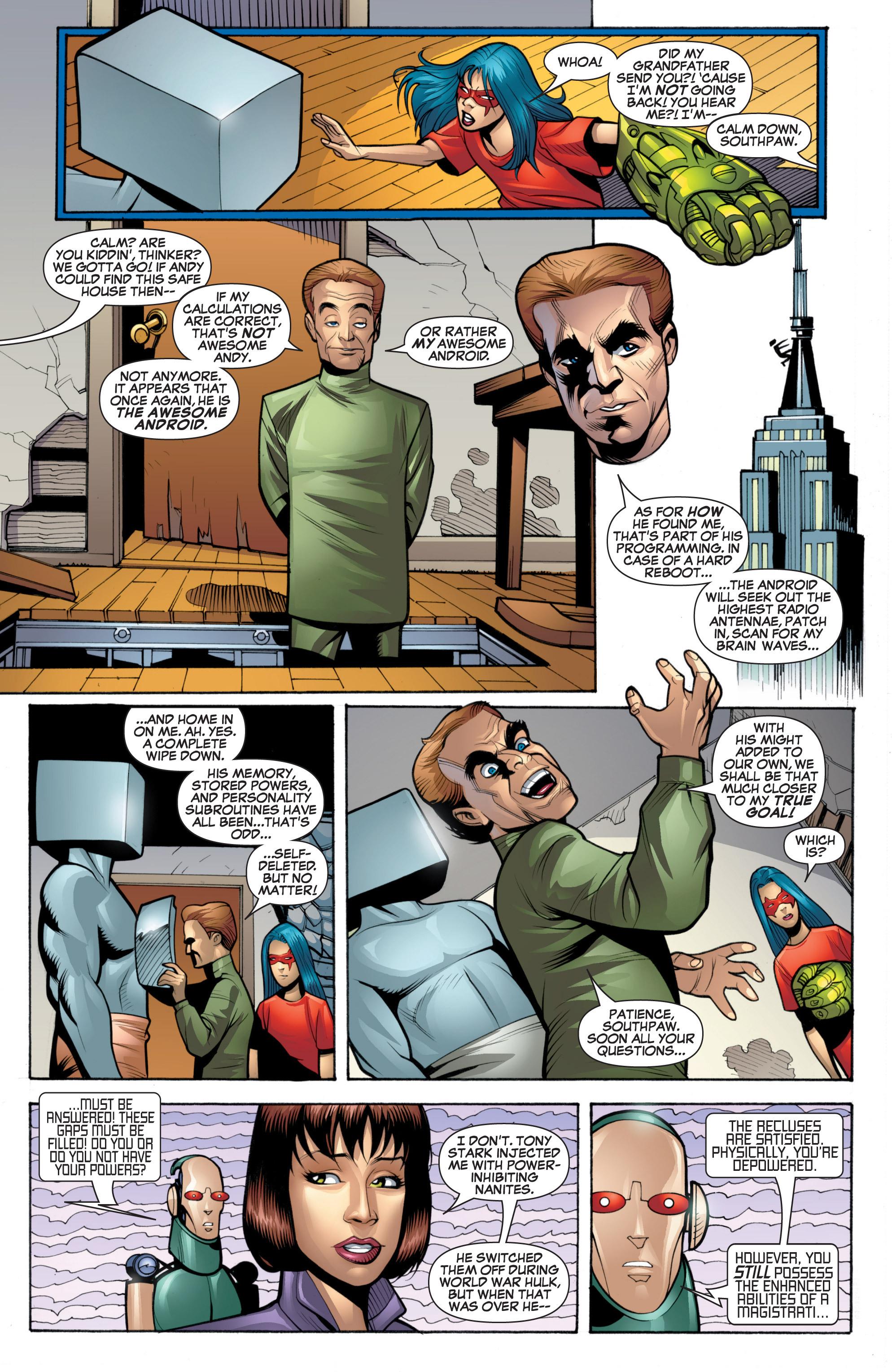 Read online She-Hulk (2005) comic -  Issue #20 - 20