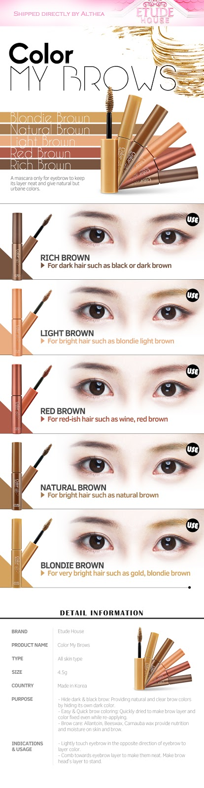 Etude House Colour My Brows