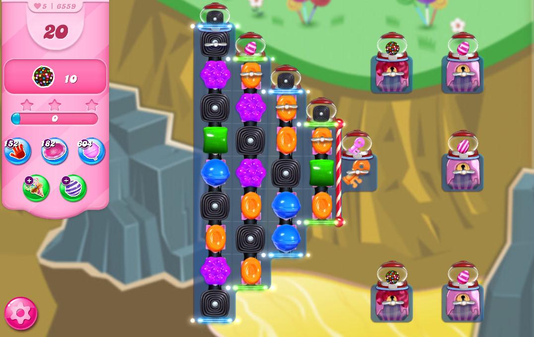 Candy Crush Saga level 6559
