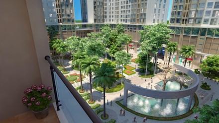 Cảnh quan dự án Eco Green City