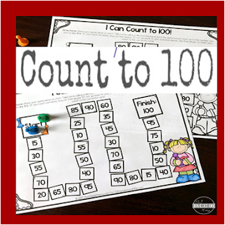 count to 100 games kindergarten math