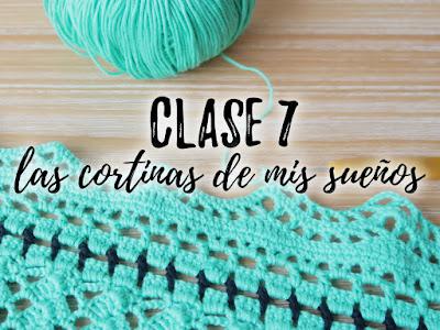 imagen cortina crochet cenefa ahuyama crochet