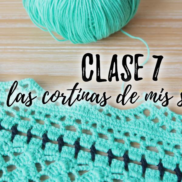 LAS CORTINAS DE MIS SUEÑOS - CLASE 7 y 8