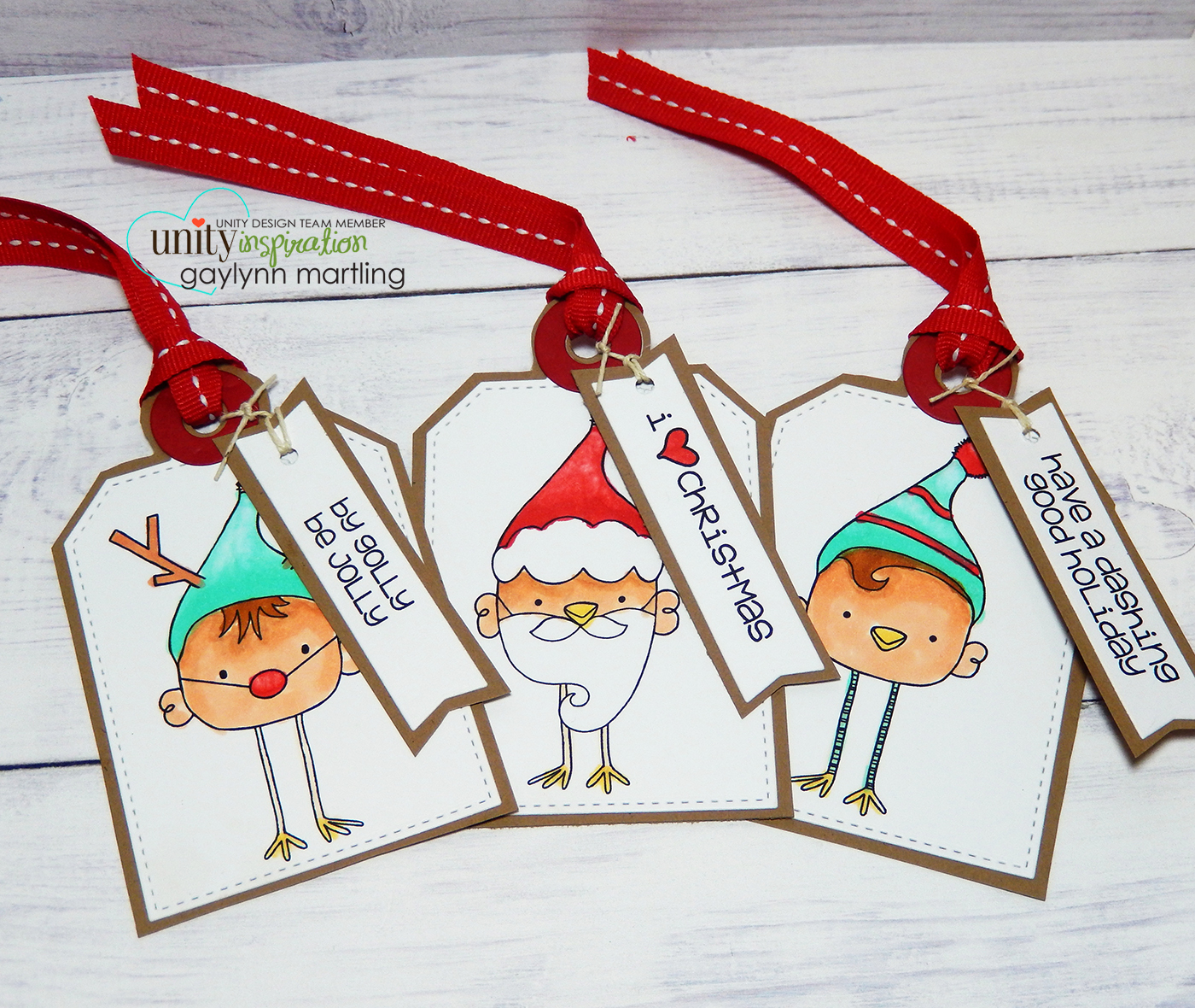Christmas Gift Tags Handmade.Neat Nook Creations Set Of Handmade Christmas Gift Tags