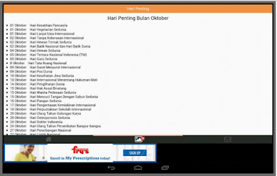 Apps Android Hari Penting