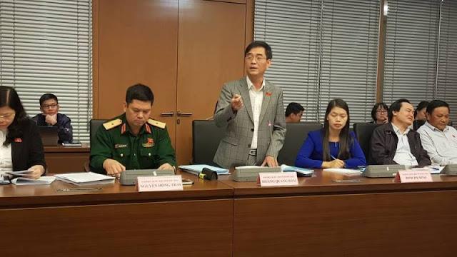 ĐBQH Hoàng Quang Hàm - Uỷ viên Thường trực Uỷ ban Tài chính ngân sách