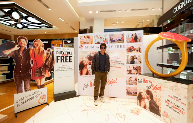 Shah Rukh Khan launches 'Mumbai Duty Free is now Free' campaign