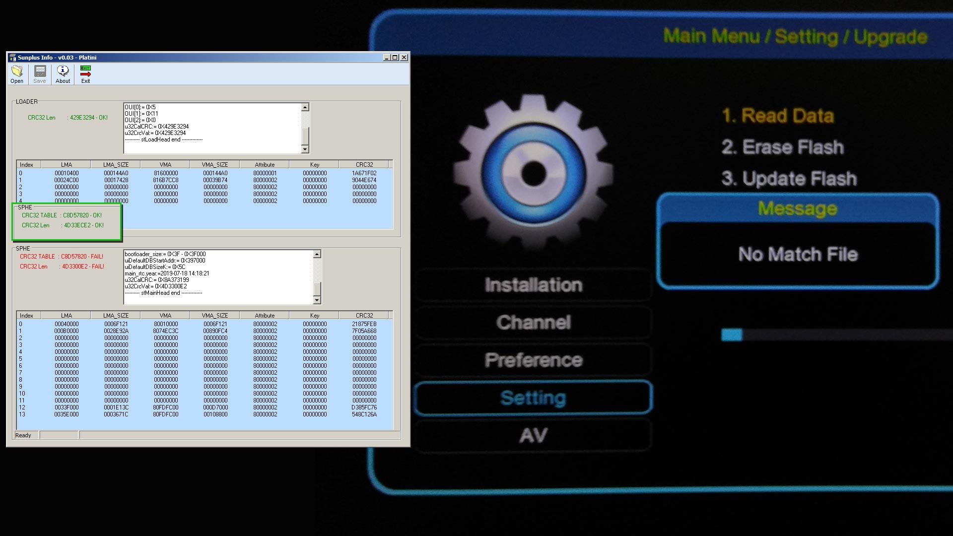 Cara Memperbaiki Error No Match File Boot Logo Sun Plus