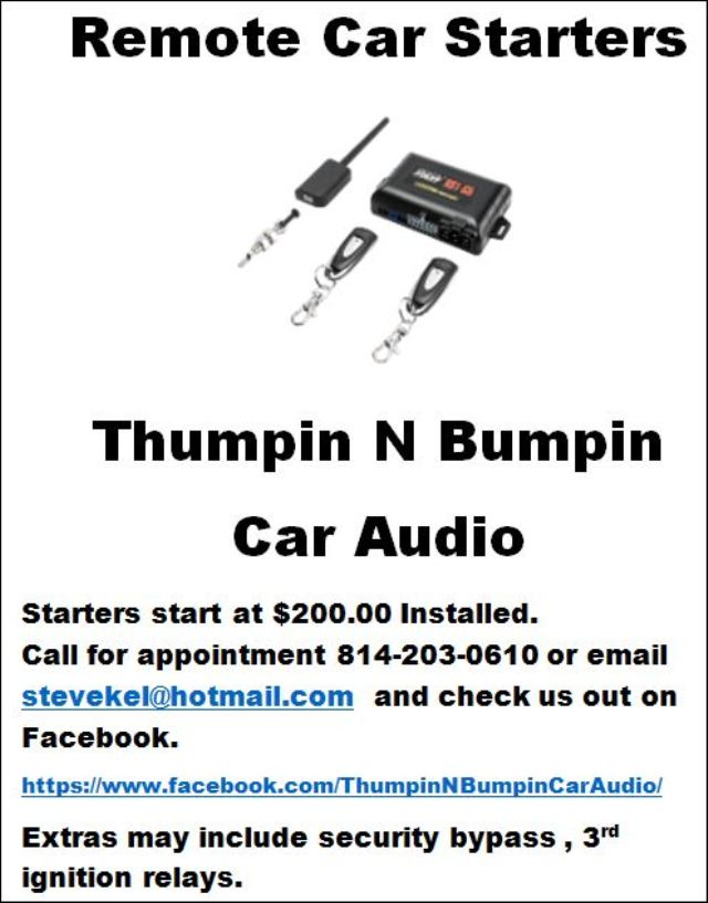 https://www.facebook.com/ThumpinNBumpinCarAudio/