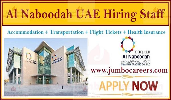 Saeed & Mohammed Al Naboodah Group Dubai Careers 2021