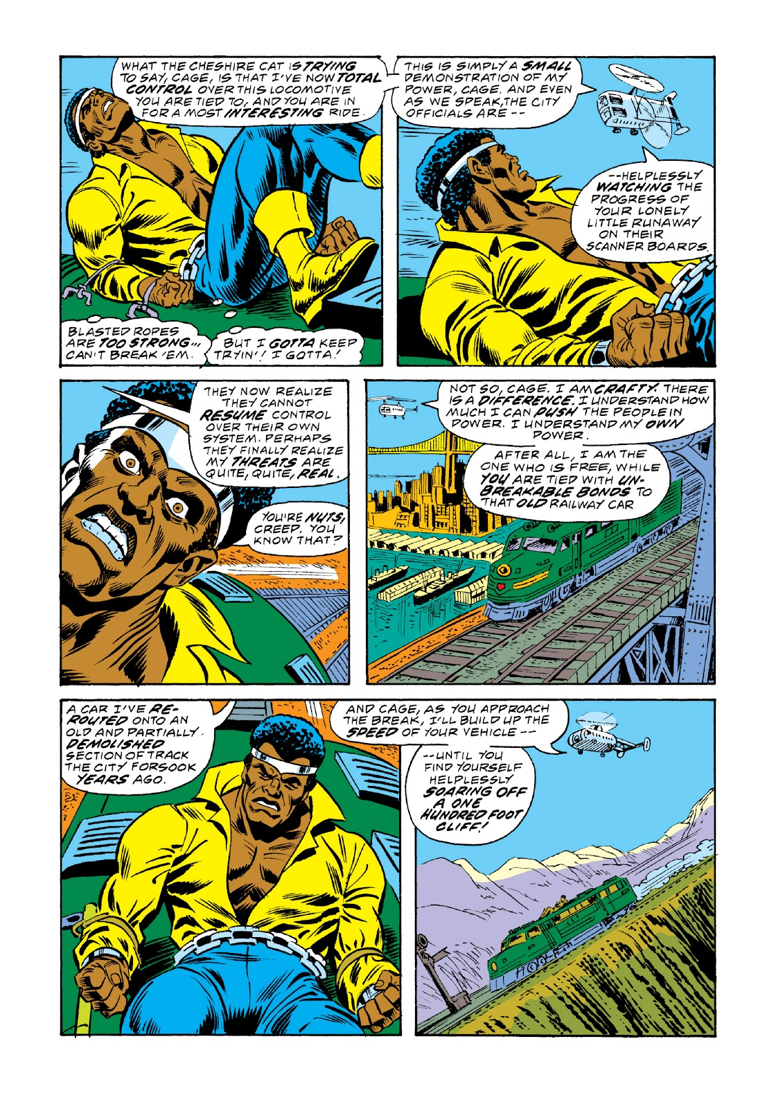 Read online Marvel Masterworks: Luke Cage, Power Man comic -  Issue # TPB 3 (Part 2) - 84