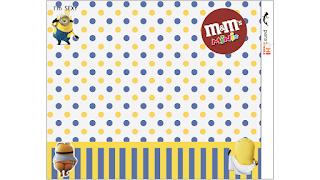 Etiqueta M&M  para Imprimir Gratis de Minions Sexy.