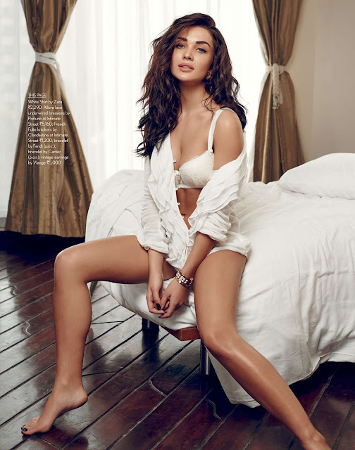 Amy Jackson alluring photoshoot pictures for Maxim India