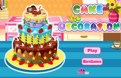 Permainan Memasak Kue Ulang Tahun