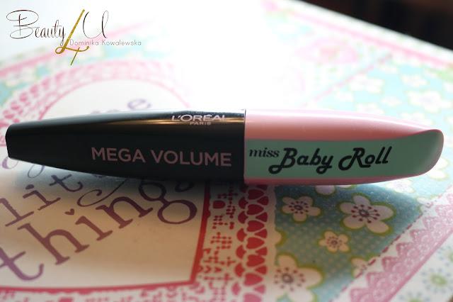 Tusz Loreal Miss Baby Roll, mega Volume Mascara -  Aktualizacja
