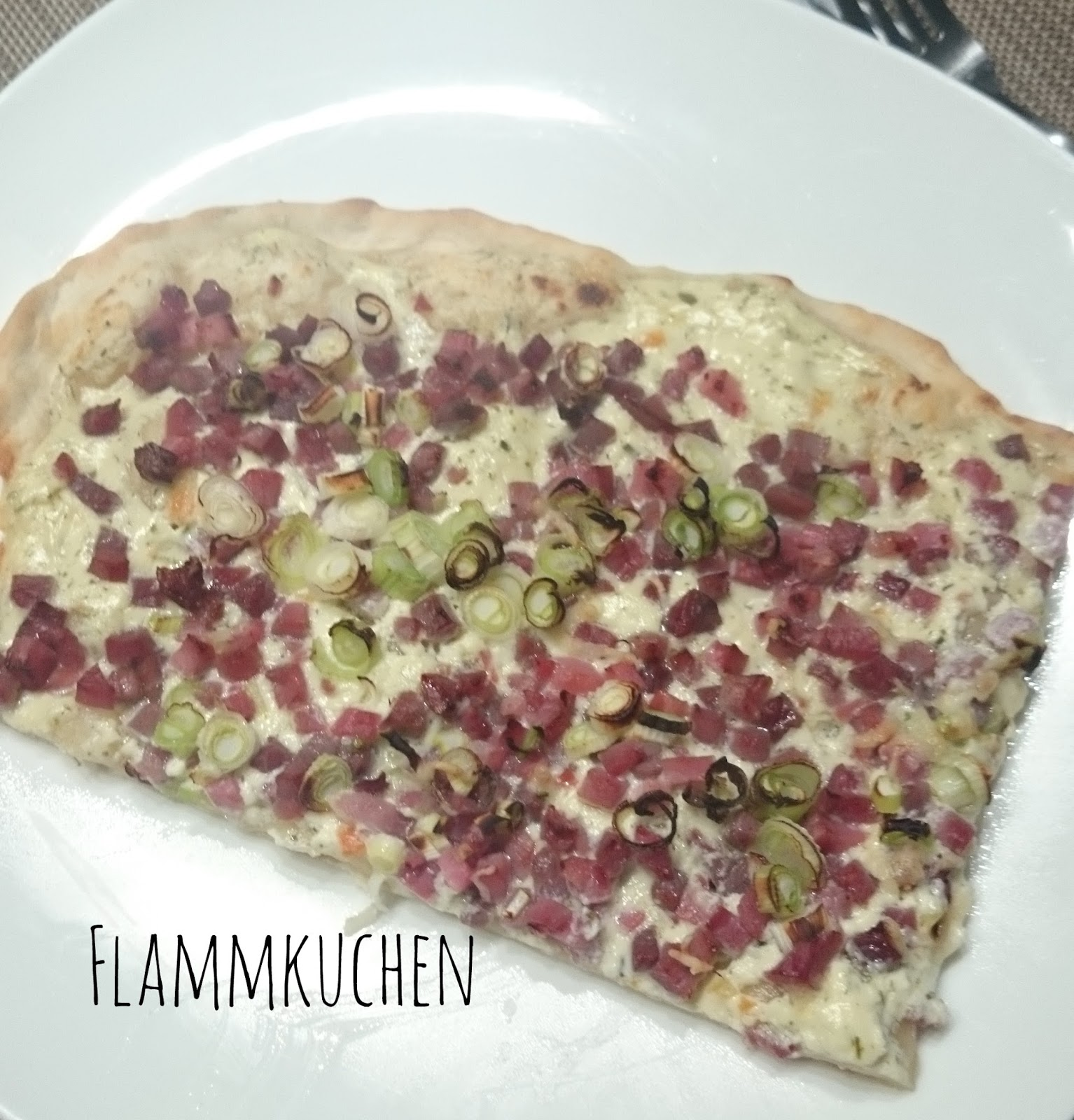 Recipe Tarte Flambee