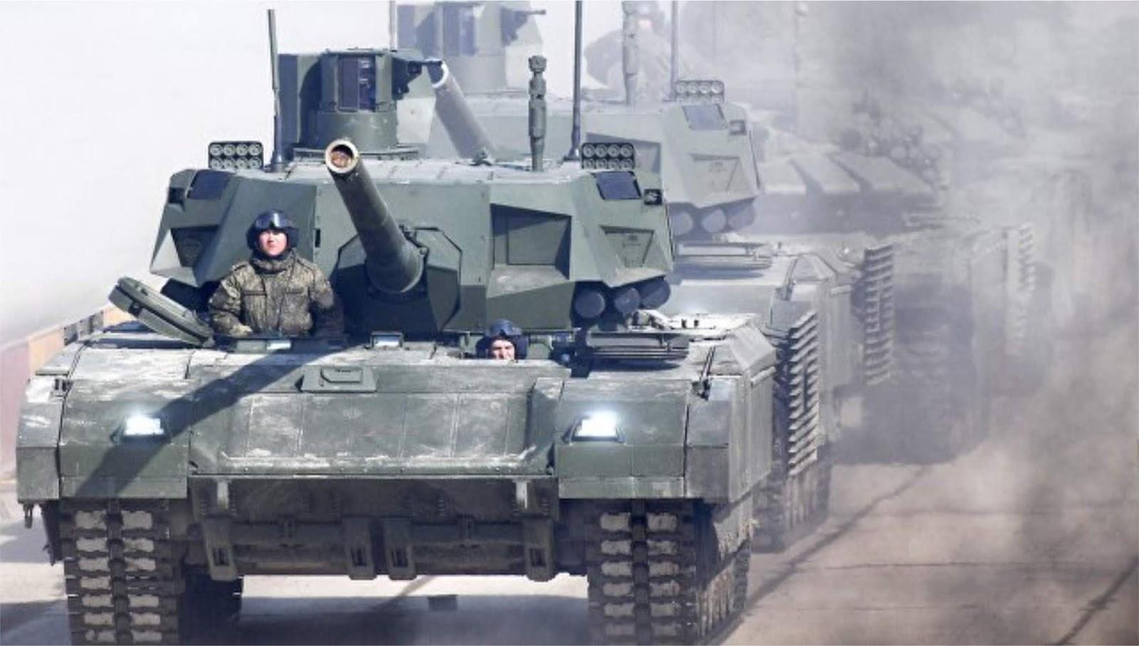 NI membandingkan Armata dengan Merkava Israel