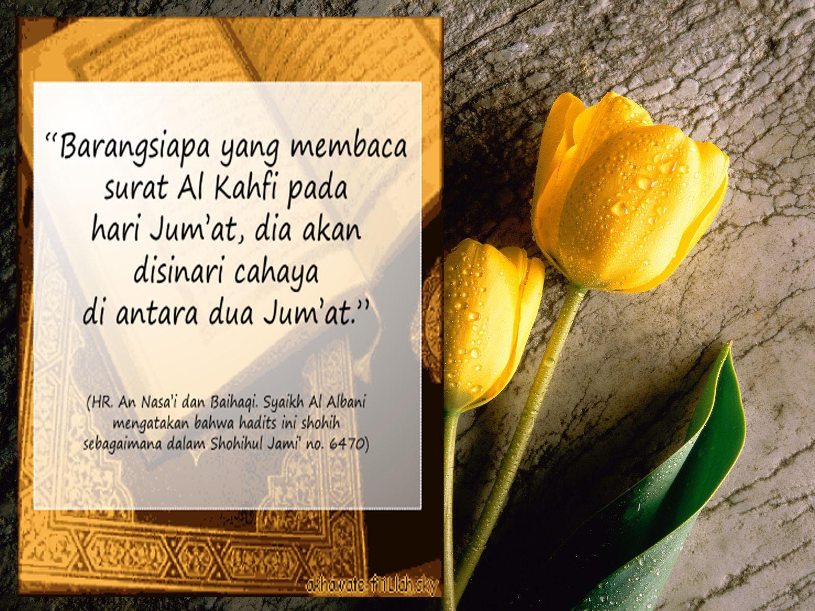 """""""BELAJAR"""": Manfaat dan Keutamaan Membaca Surat Al-Kahfi ..."""