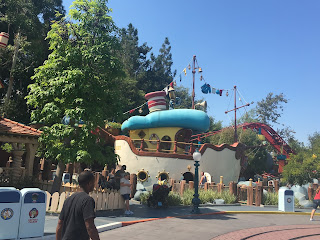 Donald Duck boat Toontown Disneyland