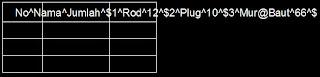 Menyalin / mengcopy tabel MTO dari AutoCAD ke Excel