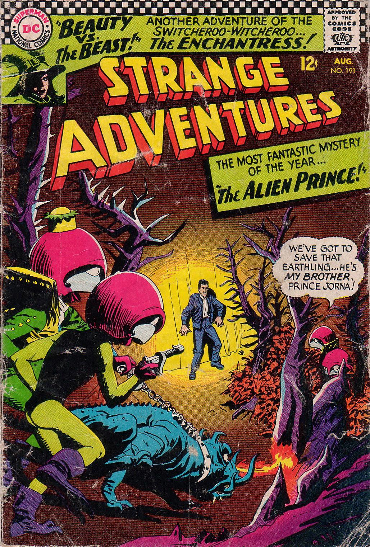 Strange Adventures (1950) issue 191 - Page 1