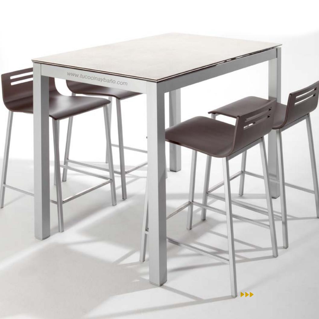 Mesa alta de cocina tipo barra mesas de cocina altas for Mesas altas de cocina