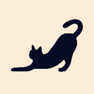 猫 ヨガ ポーズ