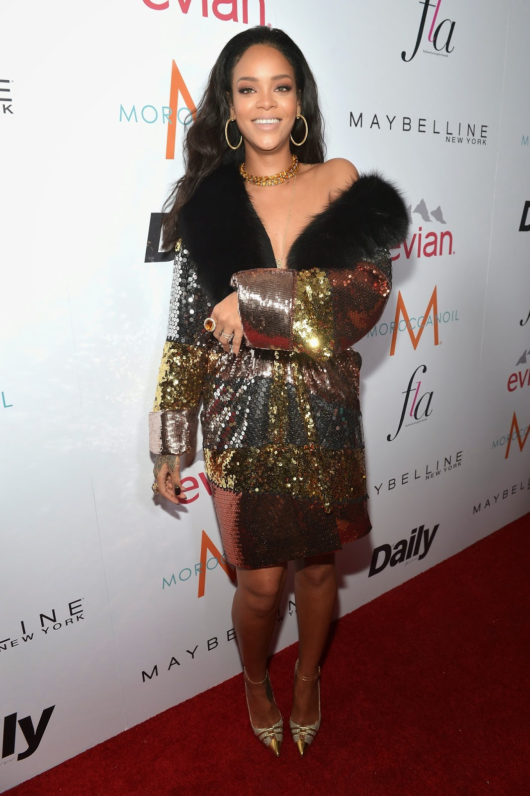Rihanna at Fashion Los Angeles Awards