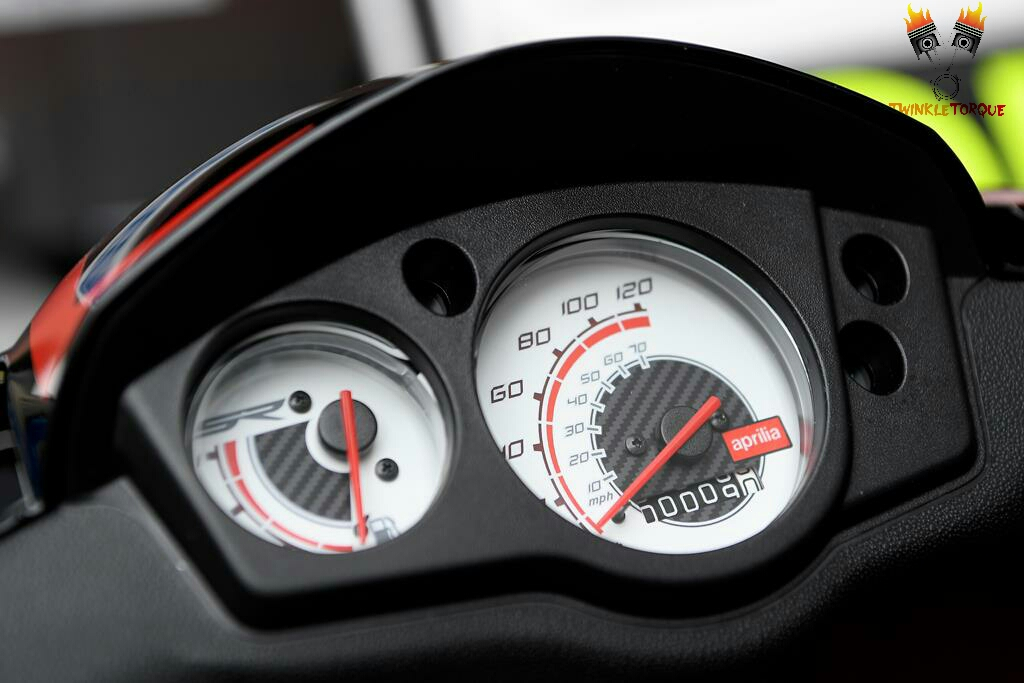 Aprilia SR 150 INSTRUMENTAL CLUSTER twinkle torque