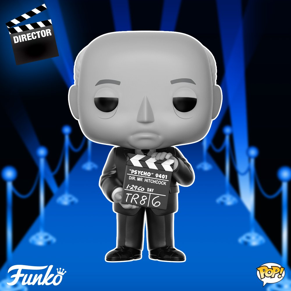 Alfred Hitchcock As Popvinyl From Funko For October 2018 Release Bott Pop Emperors Kronk Press Directors The Master Of Suspense Directed 53 Films Won Too Many Awards To Mention And Cemented His Place One Most Influential
