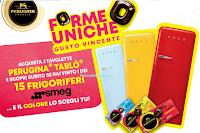 Logo ''Perugina Tablò 2018'': vinci frigoriferi Smeg del valore di oltre 1.200€