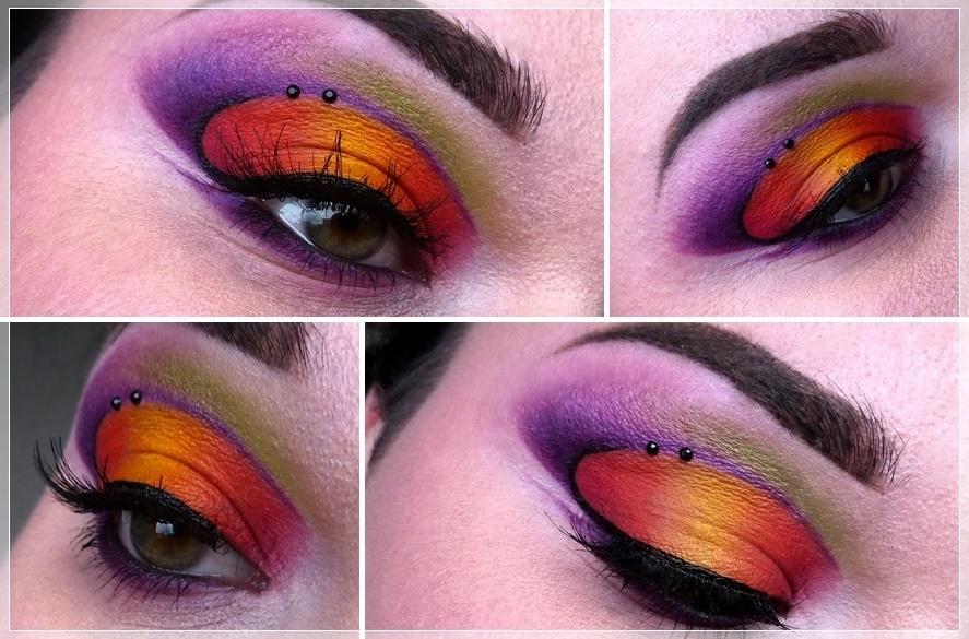 colorful make up Sugarpill